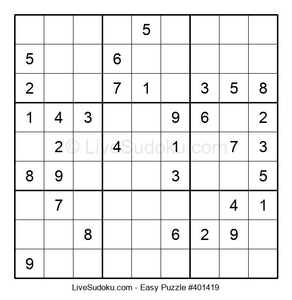 Beginners Puzzle #401419