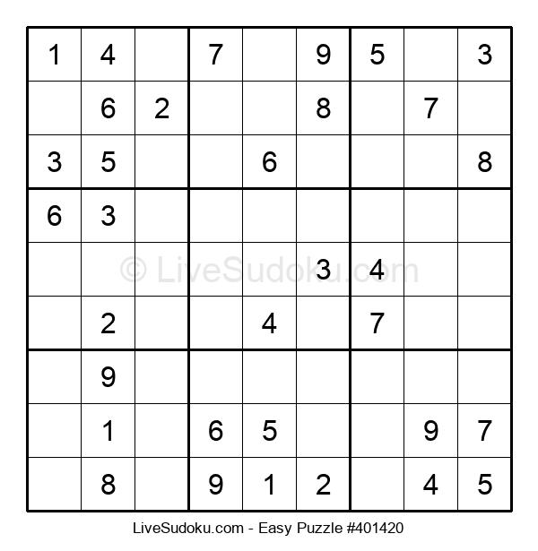 Beginners Puzzle #401420