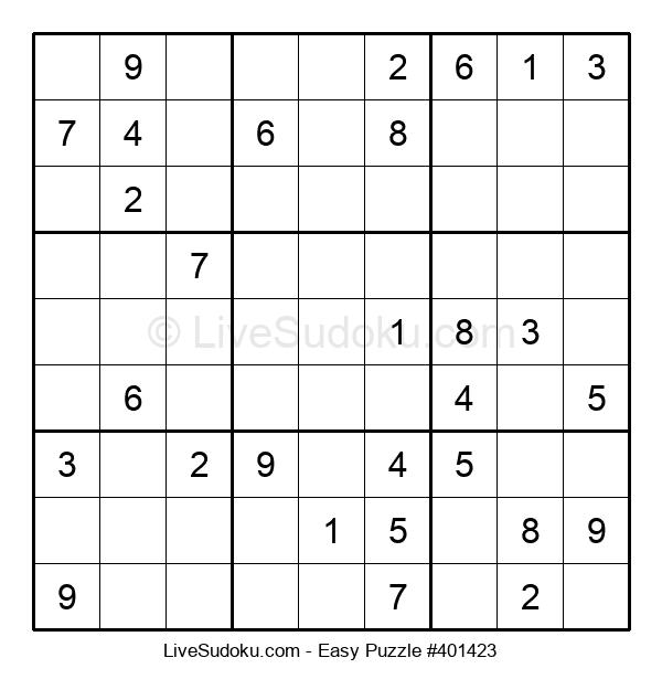 Beginners Puzzle #401423