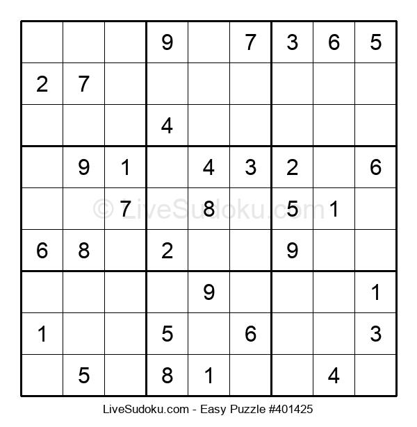 Beginners Puzzle #401425
