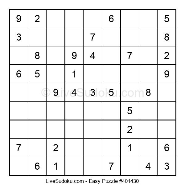Beginners Puzzle #401430
