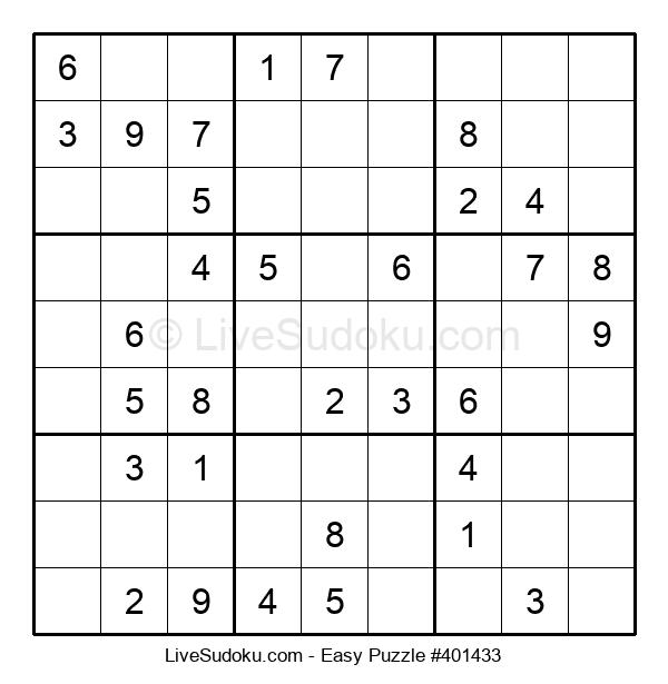 Beginners Puzzle #401433