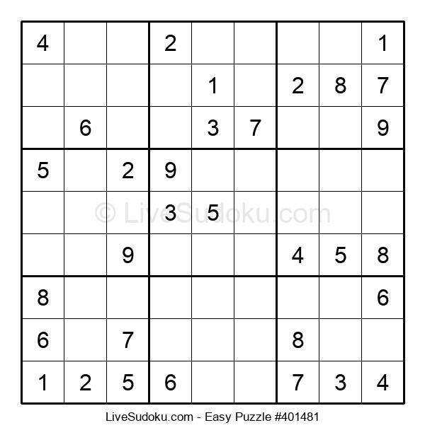 Beginners Puzzle #401481