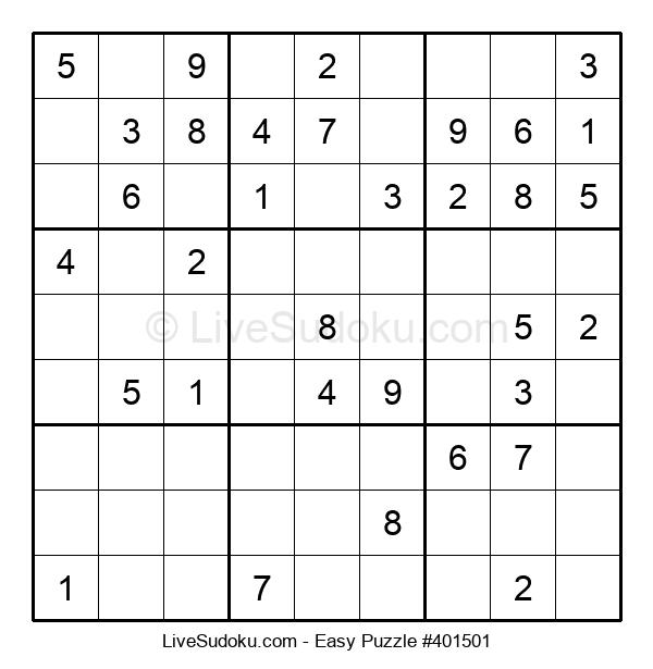 Beginners Puzzle #401501