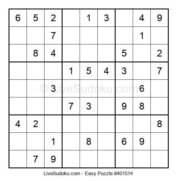 Beginners Puzzle #401514