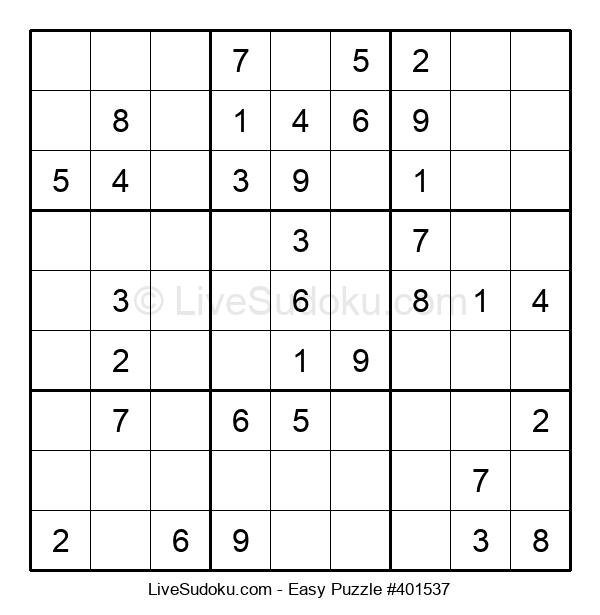 Beginners Puzzle #401537