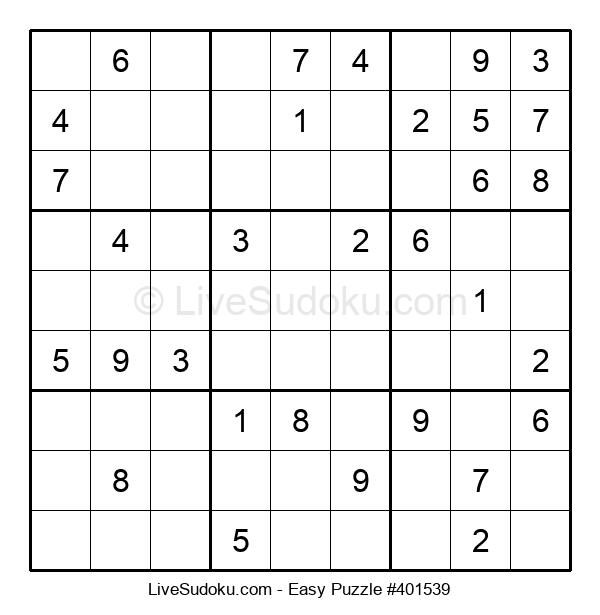 Beginners Puzzle #401539