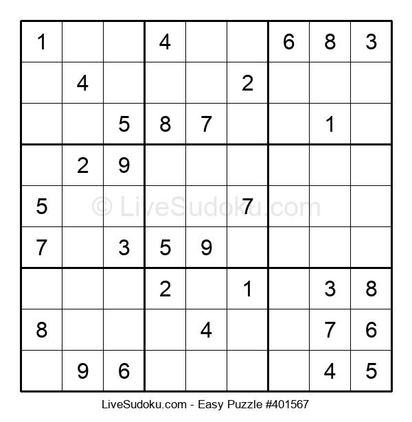 Beginners Puzzle #401567