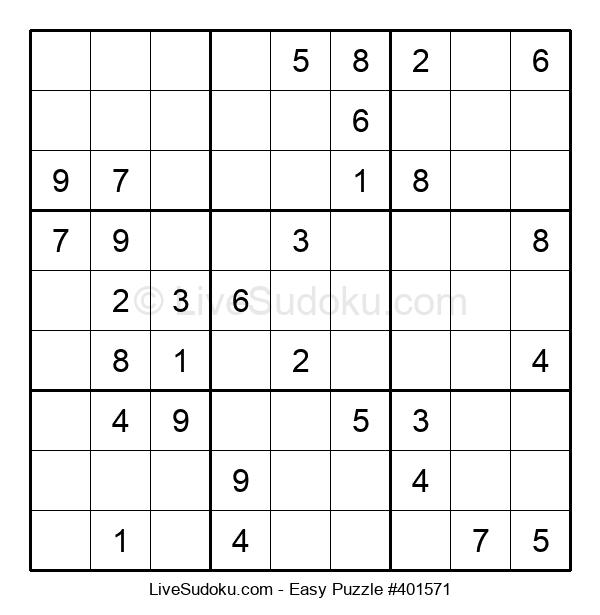 Beginners Puzzle #401571
