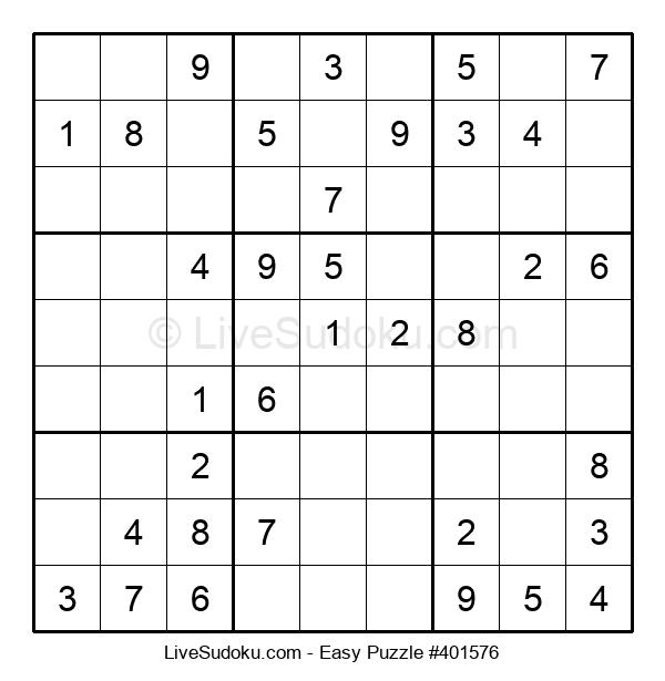 Beginners Puzzle #401576