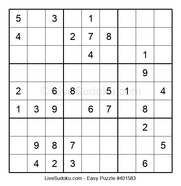 Beginners Puzzle #401583