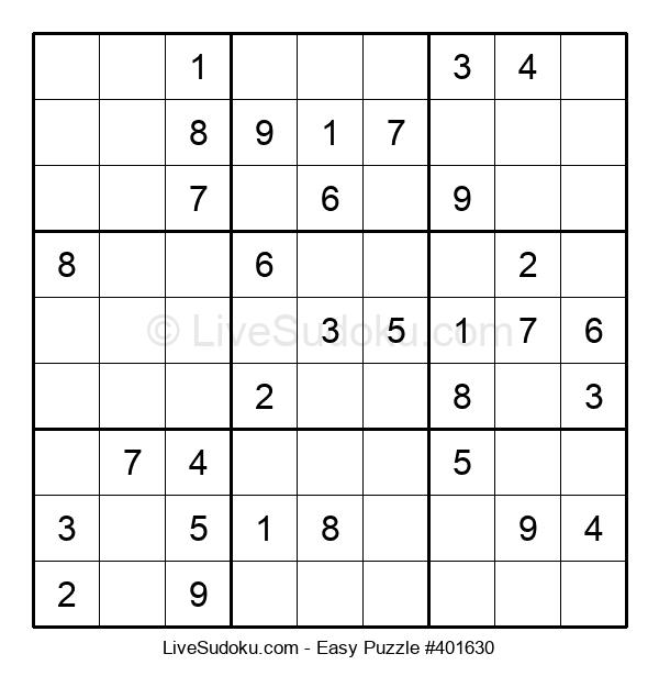 Beginners Puzzle #401630