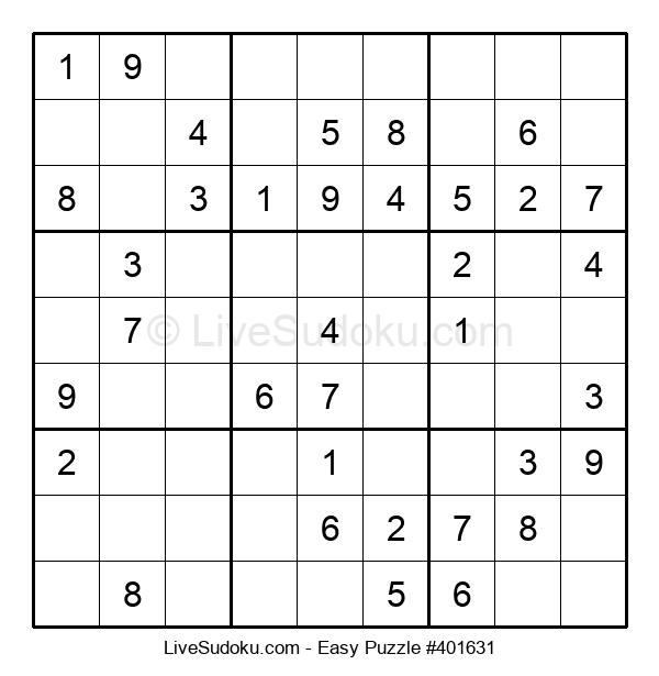 Beginners Puzzle #401631