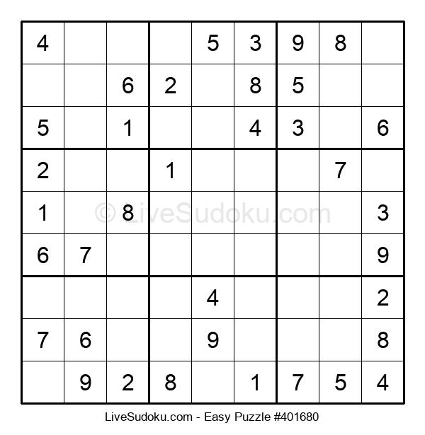 Beginners Puzzle #401680