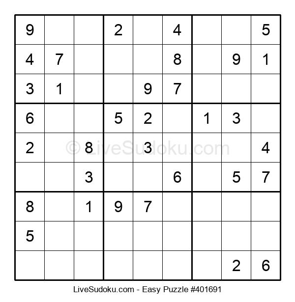 Beginners Puzzle #401691