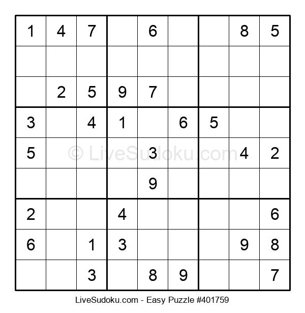 Beginners Puzzle #401759