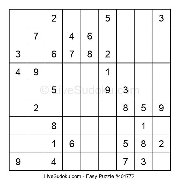 Beginners Puzzle #401772