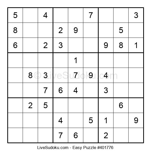 Beginners Puzzle #401776