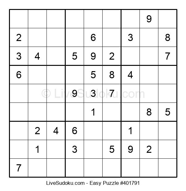 Beginners Puzzle #401791