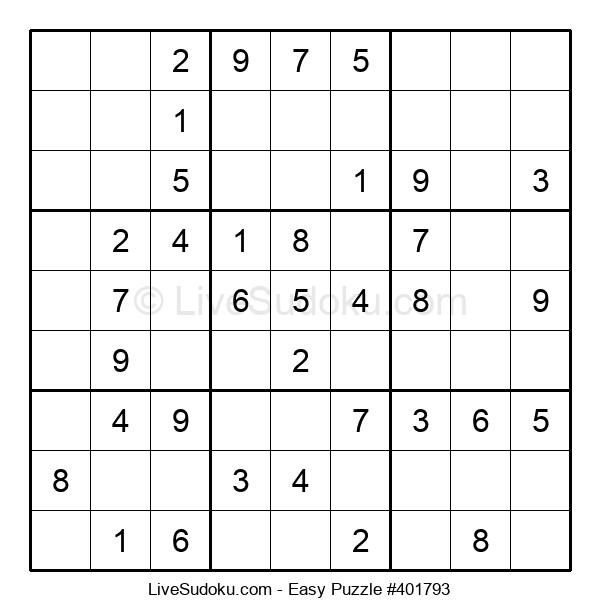 Beginners Puzzle #401793
