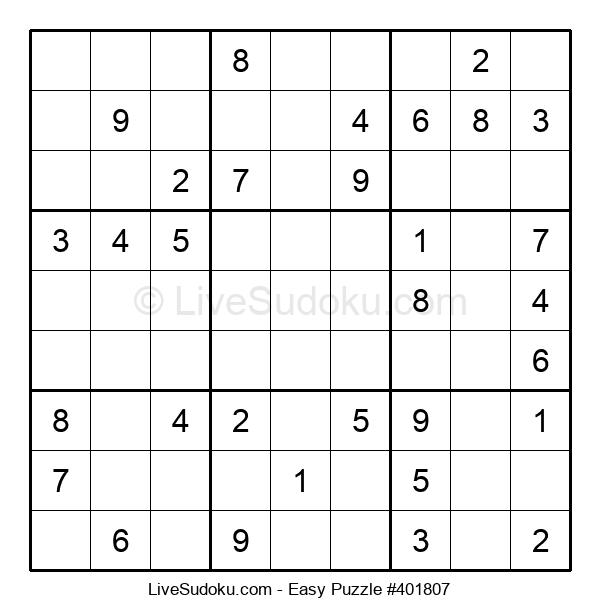 Beginners Puzzle #401807