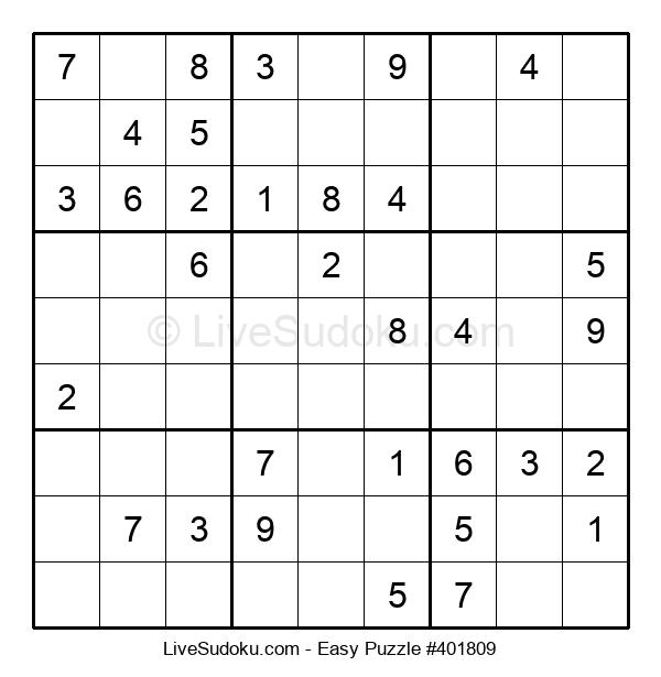 Beginners Puzzle #401809