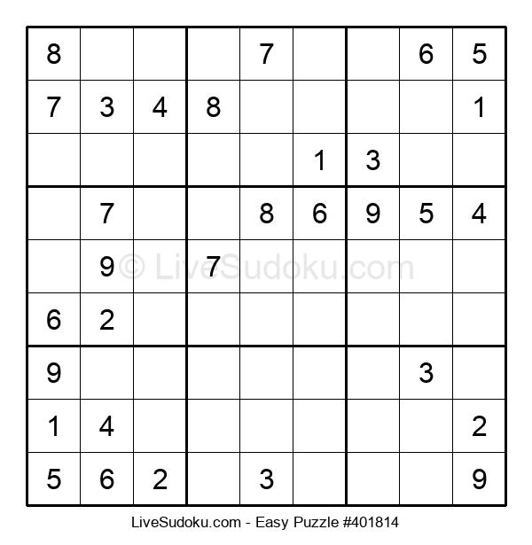Beginners Puzzle #401814