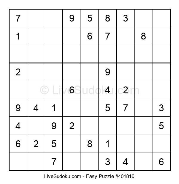 Beginners Puzzle #401816