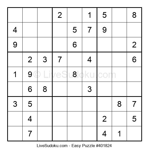 Beginners Puzzle #401824