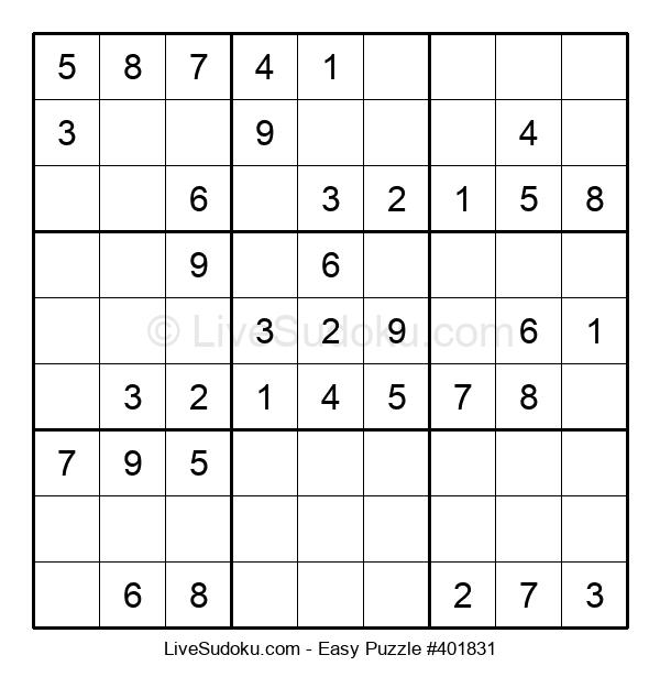 Beginners Puzzle #401831