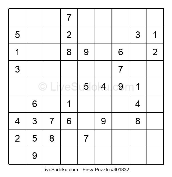 Beginners Puzzle #401832