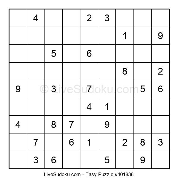 Beginners Puzzle #401838