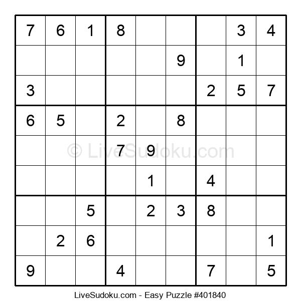 Beginners Puzzle #401840