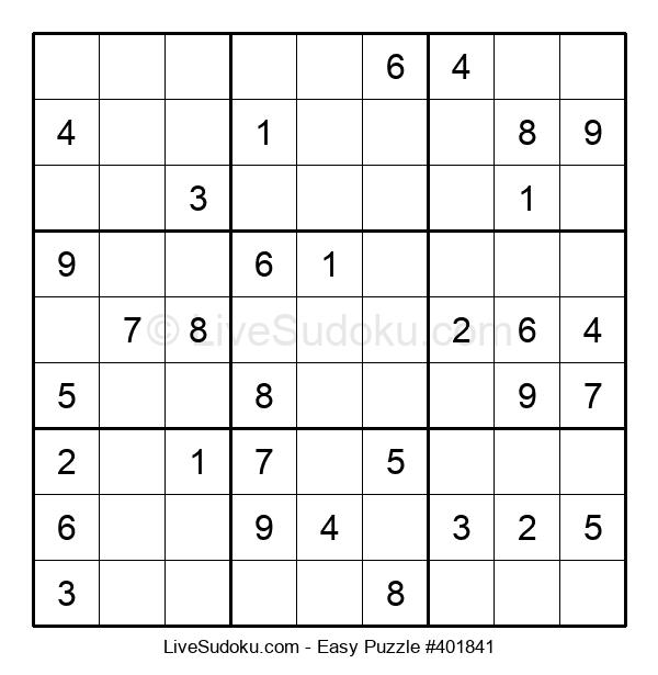 Beginners Puzzle #401841