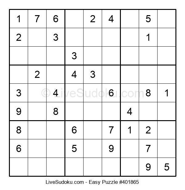 Beginners Puzzle #401865