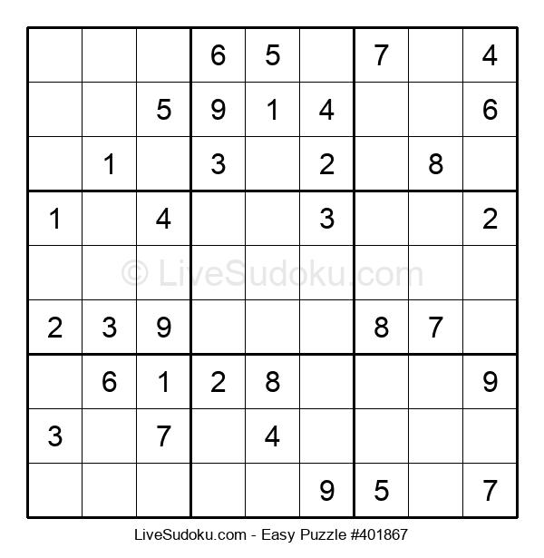 Beginners Puzzle #401867