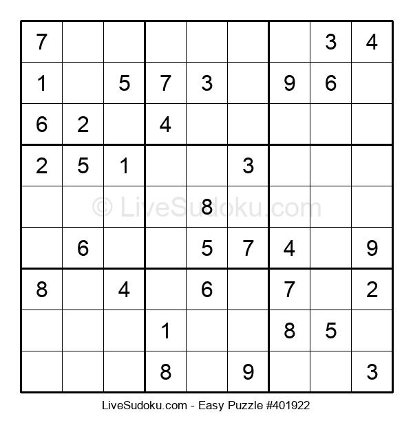 Beginners Puzzle #401922