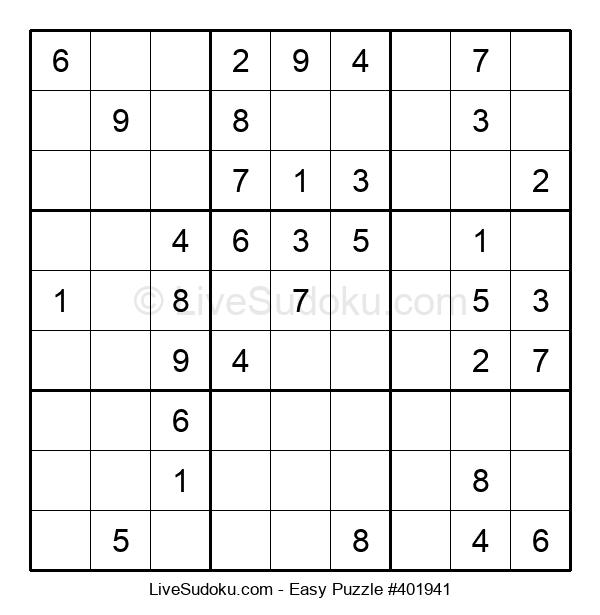 Beginners Puzzle #401941