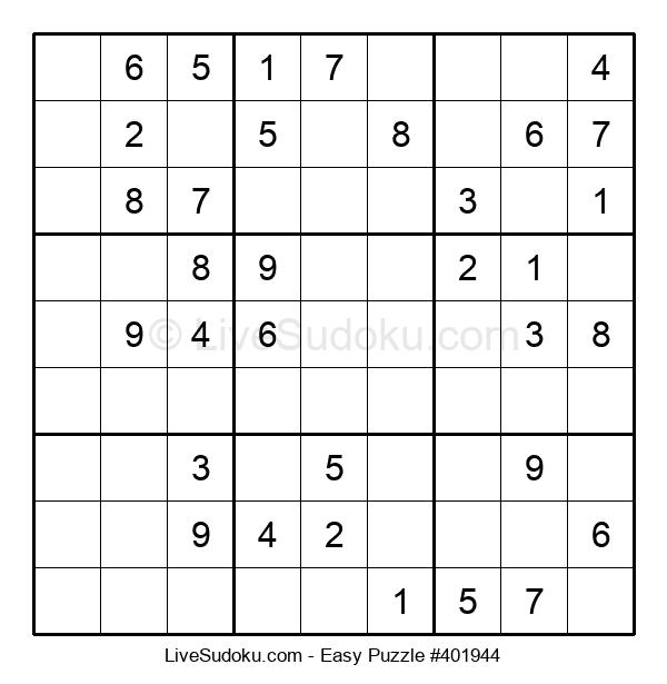 Beginners Puzzle #401944