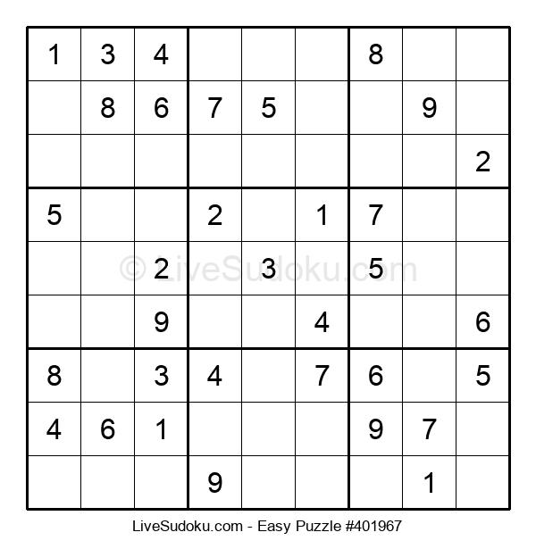 Beginners Puzzle #401967
