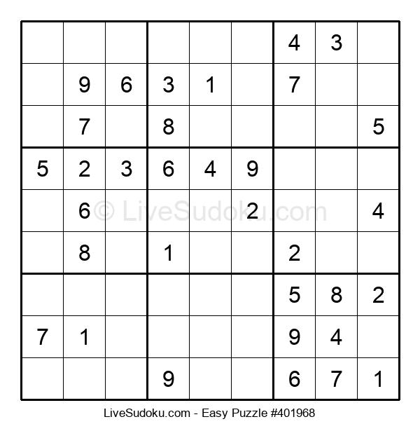Beginners Puzzle #401968