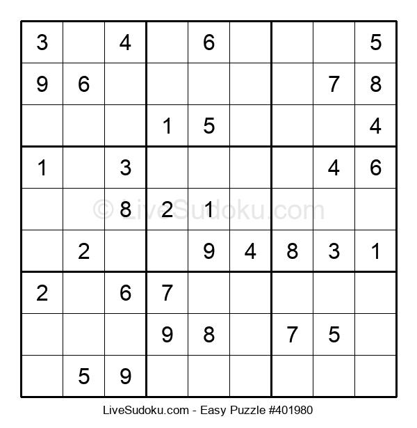 Beginners Puzzle #401980