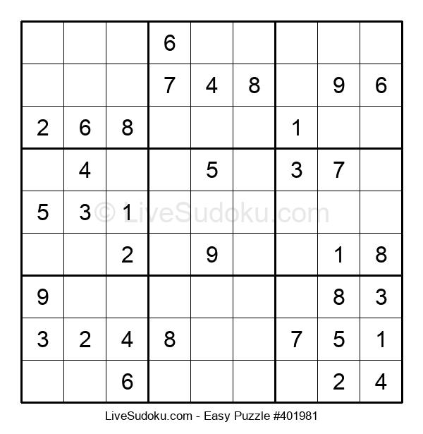 Beginners Puzzle #401981