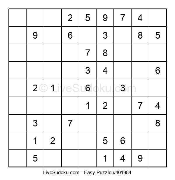 Beginners Puzzle #401984