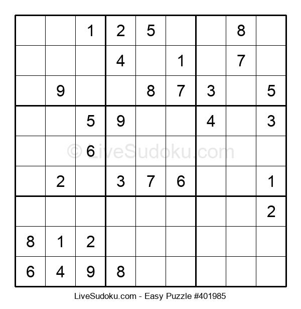 Beginners Puzzle #401985