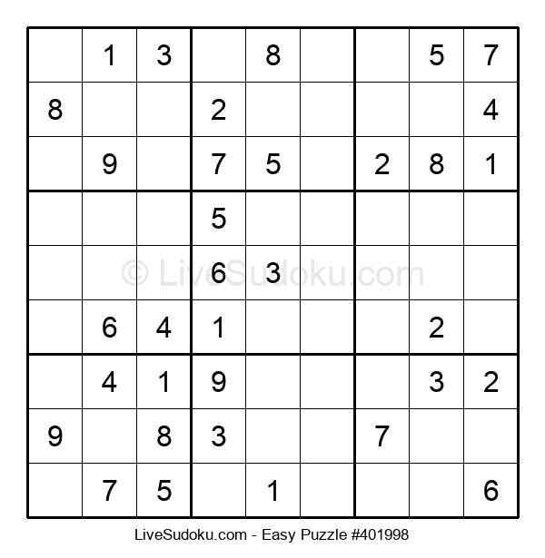 Beginners Puzzle #401998