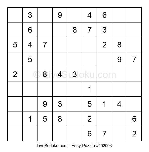 Beginners Puzzle #402003