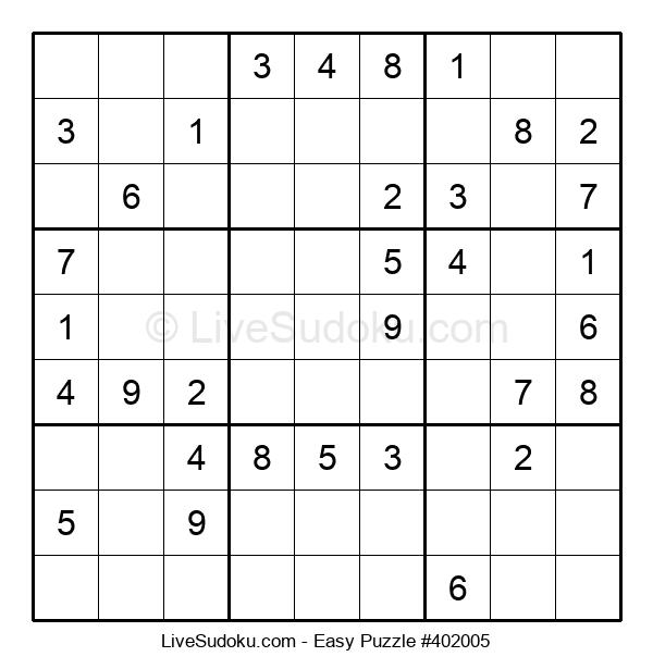 Beginners Puzzle #402005