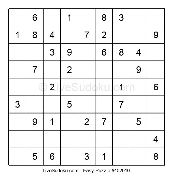 Beginners Puzzle #402010