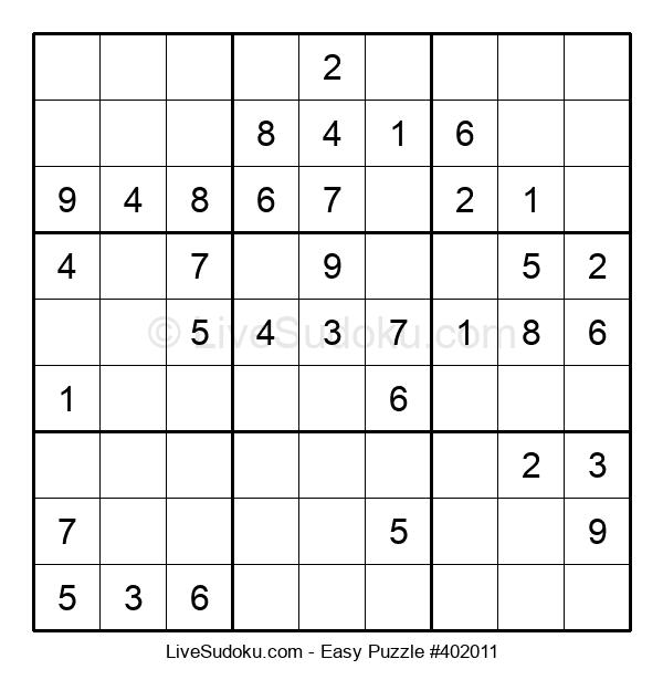 Beginners Puzzle #402011